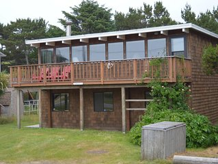 Four Bedroom Ocean View in Neskowin Village Across Street From Beach Access