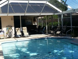 *VRBO ONLY *Beautiful & Private **  3 Bed/2.5 Bath *Solar Heated Pool