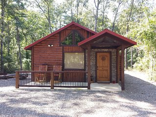 Lucky Log - 1 Bedroom/Studio, Hot Tub, Horse shoes, WiFi & much more!