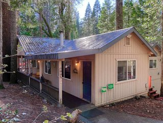 Hibernation Hideaway- Fantastic cabin located INSIDE Yosemite National Park!