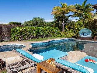 ❤️PiH❤️HAWAIIAN DESTINY★OceanViews♥ Private HEATED Pool & Spa