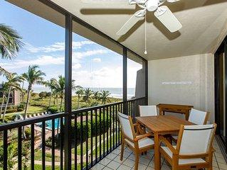 Gulf View, Top Floor, Pool, Pickleball, Restaurants, Tennis & $100+ VIP Beach Di