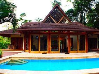 Ambar Deluxe Beach Jungle Pool House
