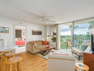 NEW! Hilo Lagoon Centre #526 2BR Condo in the Heart of Hilo