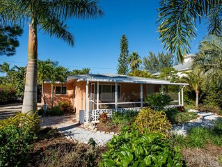 GROUND FLOOR HOME ON SANIBEL- JUST A WALK TO THE BEACH! PLUS $100+Exclusive Beac