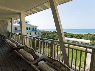 Executive Access Home! Beachside #17 - Gulf Views - Steps to Beach Club