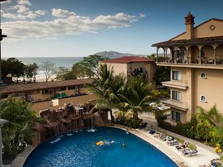 2 BR Ocean View Condo in the heart of Tamarindo! (SR 23)