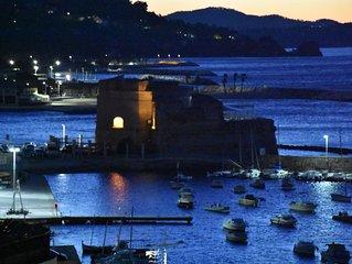 Appartement climatise les pieds dans l'eau plages de Toulon a 100 metres a pieds