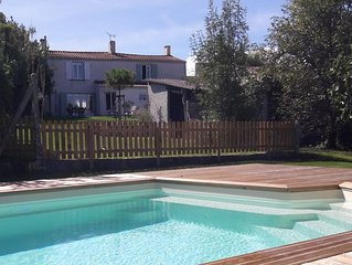 Spacieuse et charmante maison avec piscine proche Marennes Oléron