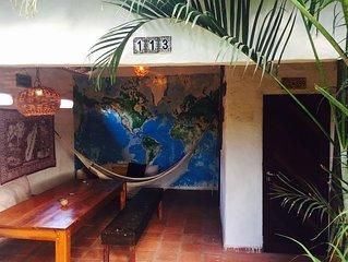 Casa Zen Tropical avec jardin exterieur - un paradis pour les kiters !