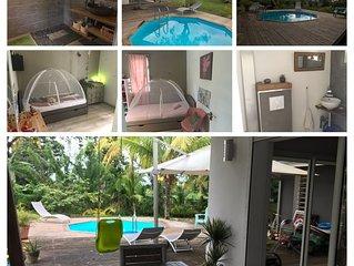 Villa bioclimatique moderne idéale famille avec enfants