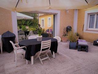 Villa 150m2 avec jardin proche des commodités