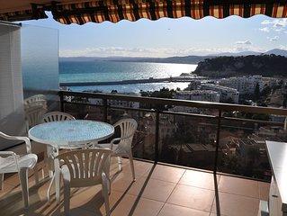 Nice Mont Boron - Port. 2 pieces standing avec vue mer, piscine et garage ferme