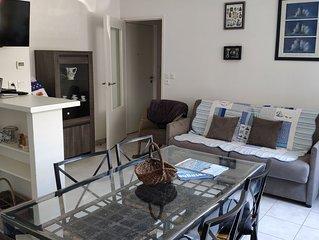 Appartement moderne a 50m de la mer au Val Andre