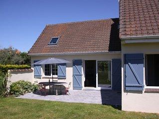 Charmante maison dans clos proche de la mer à Hardelot plage  pour 8 pers.
