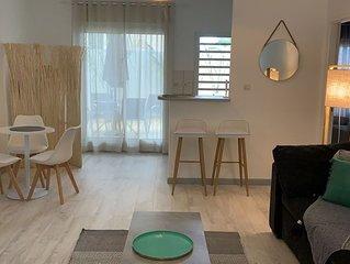 Appartement tendance avec terrasse