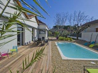 Ma Vie Là, luxe et confort, piscine chauffée