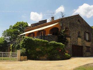 Belle maison avec piscine à Saint-Saturnin-les-Apt (Vaucluse), Lubéron, Provence