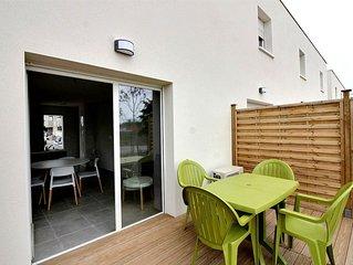 Beau pavillon dans une résidence neuve pour 6 personnes