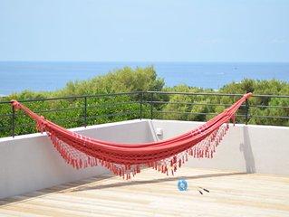 Grande villa contemporaine Corse, Marine de Davia, 5' à pieds de la plage