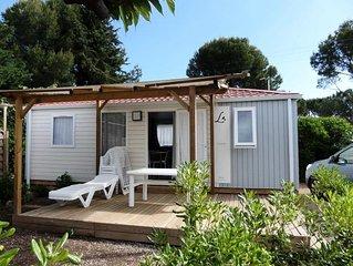 Domaine Sainte Veziane*** - Mobil Home Confort Plus 3 Pièces 6 Personnes