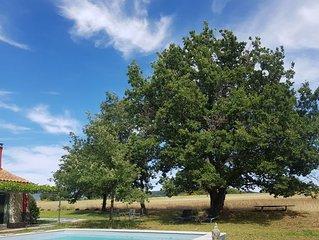 Maison de charme classé 4 étoiles dans Parc Naturel Régional Protégé du Luberon