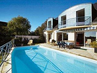 Maison moderne avec vue mer BAIE DE QUIBERON et PISCINE privée