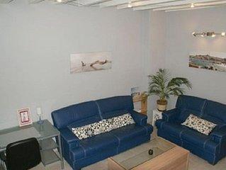 Appartement climatisé 5 personnes en Camargue: plages, nature, kite-surf, wifi.