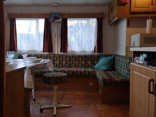 Mobil home 5 personnes dans camping familial massif du Sancy