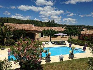Villa de Charme en Provence entre Mer et Gorges du Verdon, PISCINE Wi-Fi gratuit