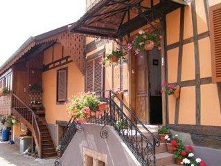 Maison independant en Alsace