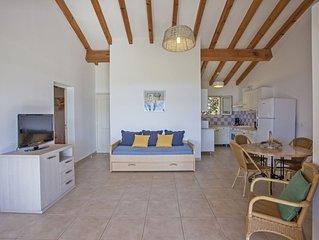 Villa individuelle**** vue sur la mer, a 250m des plages, avec piscine chauffee