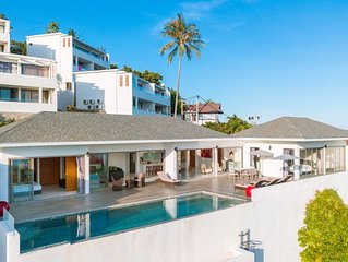 Luxury 3 bedroom villa with private pool and amazing sea view