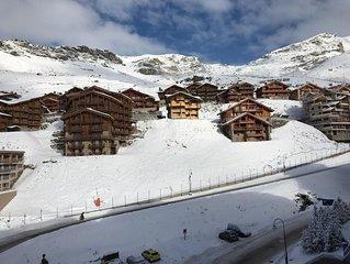 Val Thorens -  4 personnes - tous commerces et skis aux pieds de la résidence