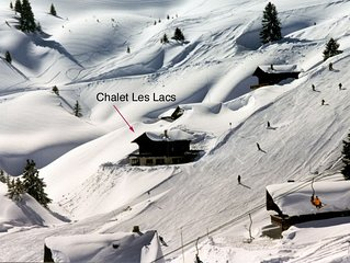 SKI IN/SKI OUT GRAND CHALET PRESTATIONS LUXUEUSES 240M. CARRES, 15/18 personnes