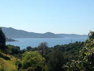Grand rez de villa T2 - vue mer - sans vis-à-vis