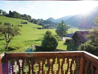 vacances de charme dans les alpages Suisses