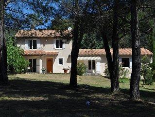Au pied du Luberon,  charmante villa tout confort