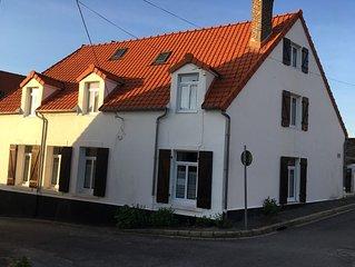 Loue Maison Wissant (62) 5 ch - 9 couchages Eté 2017