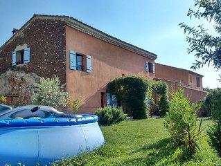 Maison de village avec jardin au pied du Ventoux