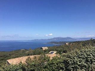 ☀️ Mini-Villa 3 Pièces avec jardin magnifique vue mer (cf vidéo)