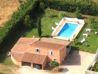 'Villa spacieuse et agréable, en campagne'
