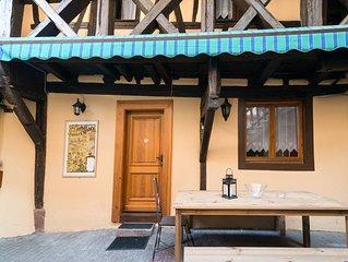 Gîte studio Gewurztraminer dans le centre de Ribeauvillé en Alsace