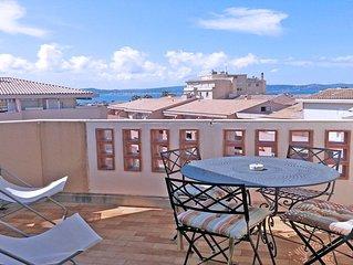 Appartement T2 + cabine - 4 personnes - Vue mer - Centre ville - Sainte Maxime