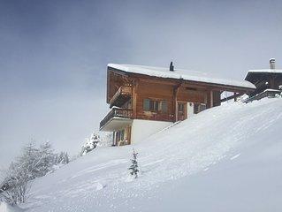 Luxueux chalet familial de 5 chambres aux Crosets - ski in/ski out