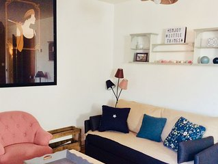 Appartement de 50m2 dans jolie Touquettoise avec wifi