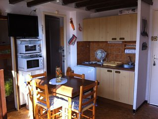 Studio mezzanine a St Pierre la Mer (Aude)