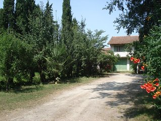 Maisonnette avec jardin privé proche Avignon