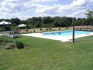 Le Mas des Aumèdes, gîte avec piscine, spa, sauna...