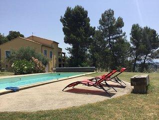T2 en Provence avec piscine